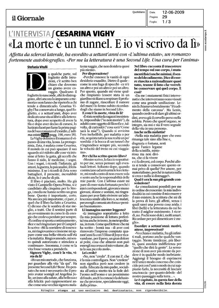Vighy - Il giornale_Pagina_1